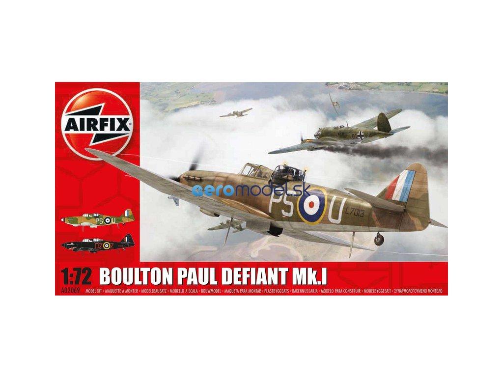 Airfix Boulton Paul Defiant (1:72) AF-A02069