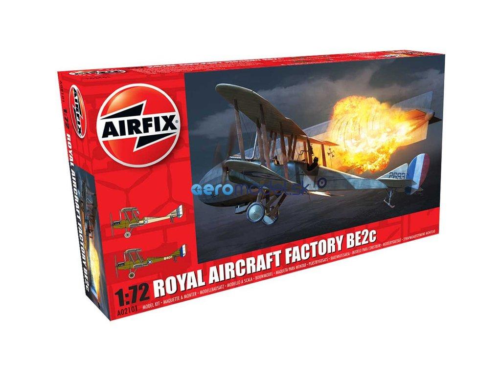 Airfix Royal Aircraft Facility BE2C (1:72) AF-A02101