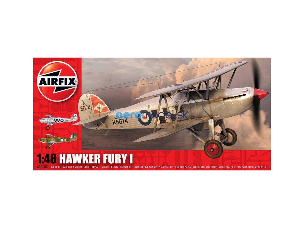 Airfix Hawker Fury (1:48) AF-A04103