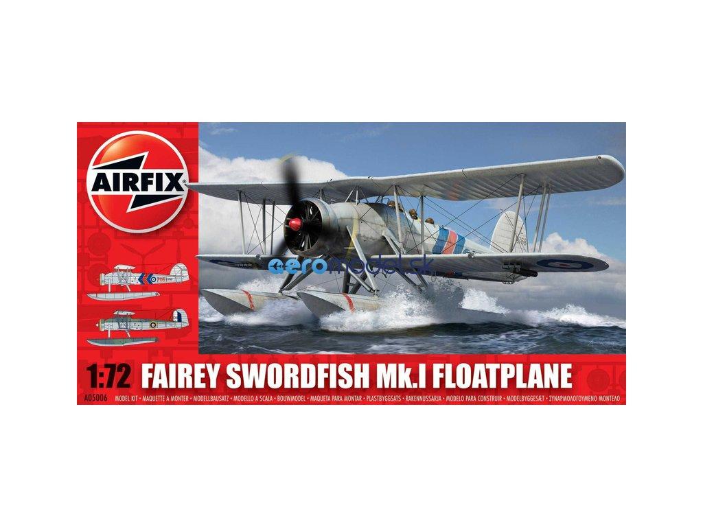 Airfix Fairey Swordfish Mk1 Floatplane (1:72) AF-A05006
