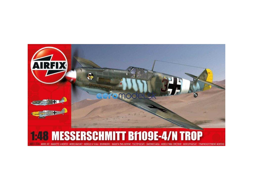 Airfix Messerschmitt Bf-109E Tropical (1:48) AF-A05122A