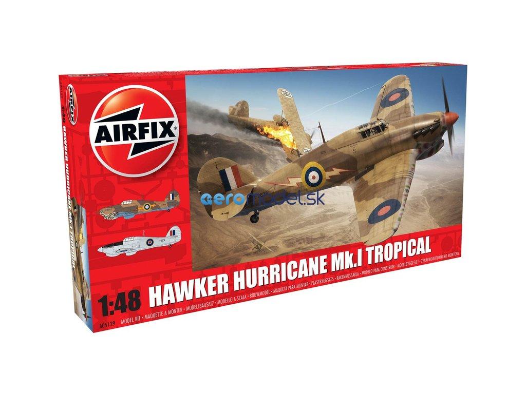 Airfix Hawker Hurricane Mk1 Tropical (1:48) AF-A05129