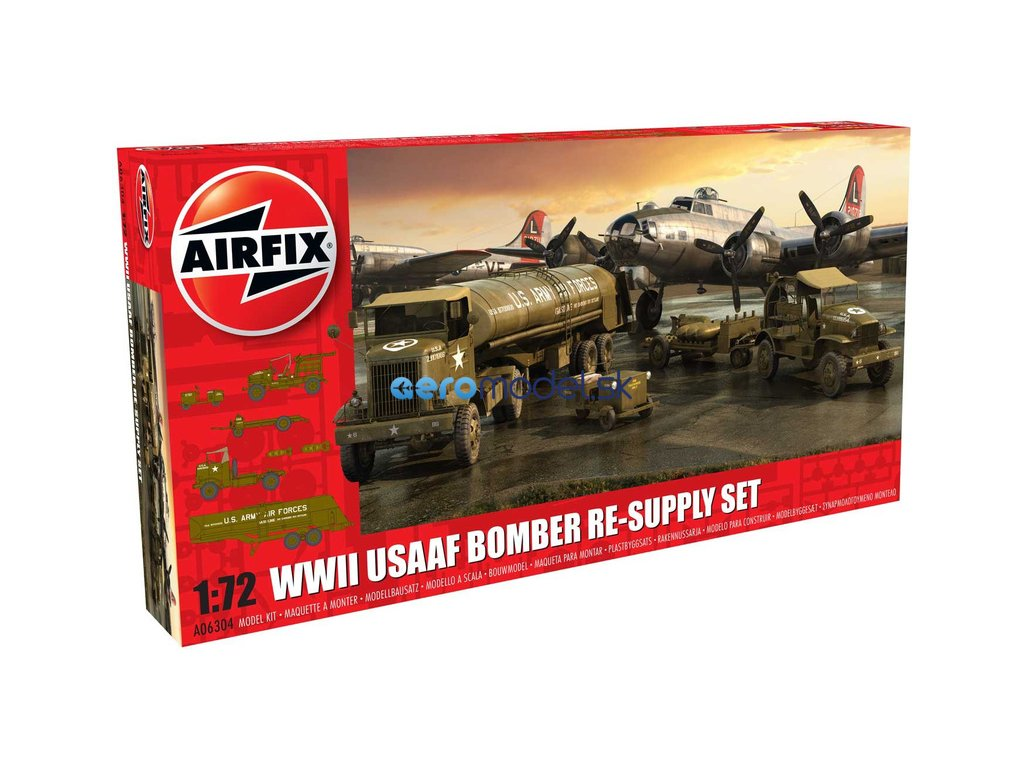Airfix diorama USAAF 8th Airforce Bomber Resupply Set (1:72) AF-A06304