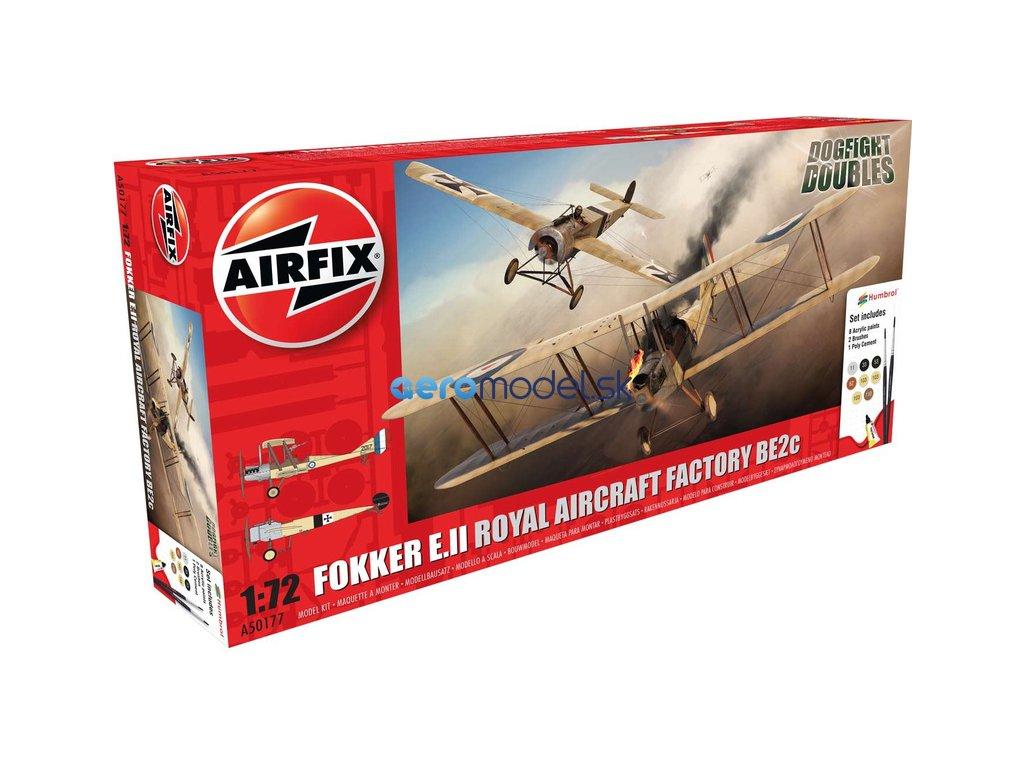 Airfix Fokker EII/BE2c Dog Fight Double (1:72) AF-A50177