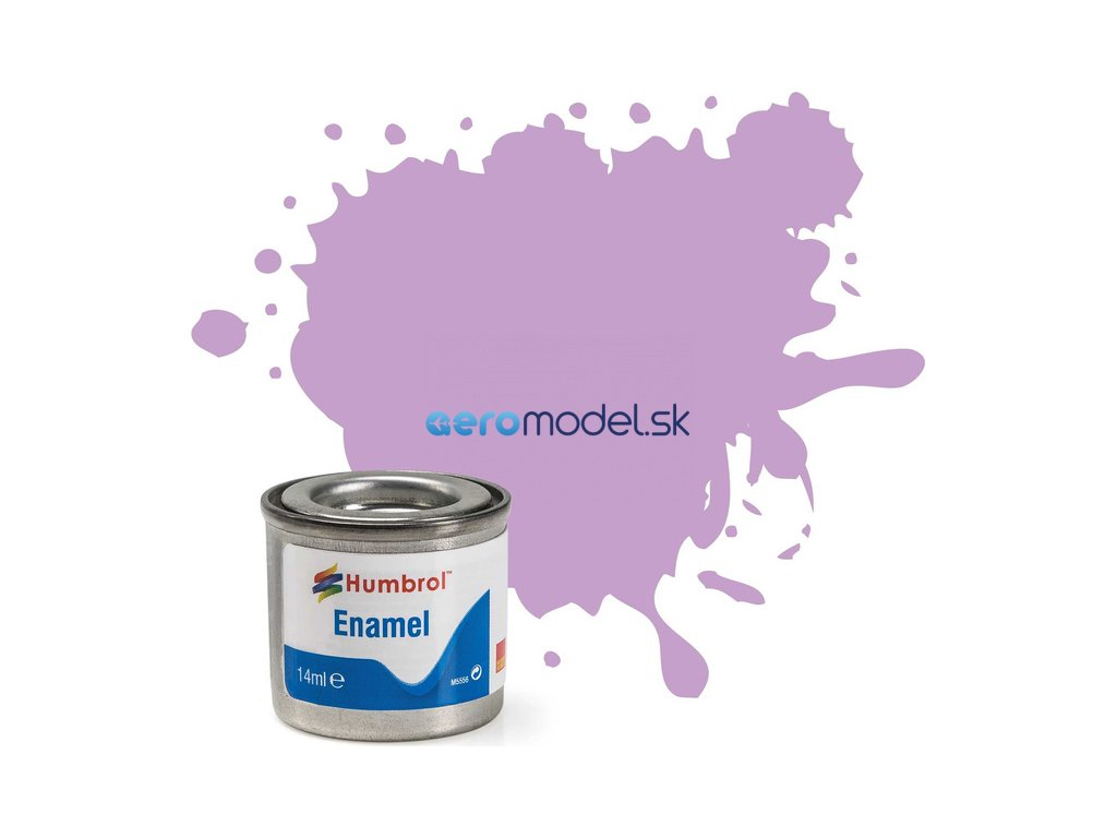 Humbrol emailová barva #42 fialová matná 14ml AF-AA0042