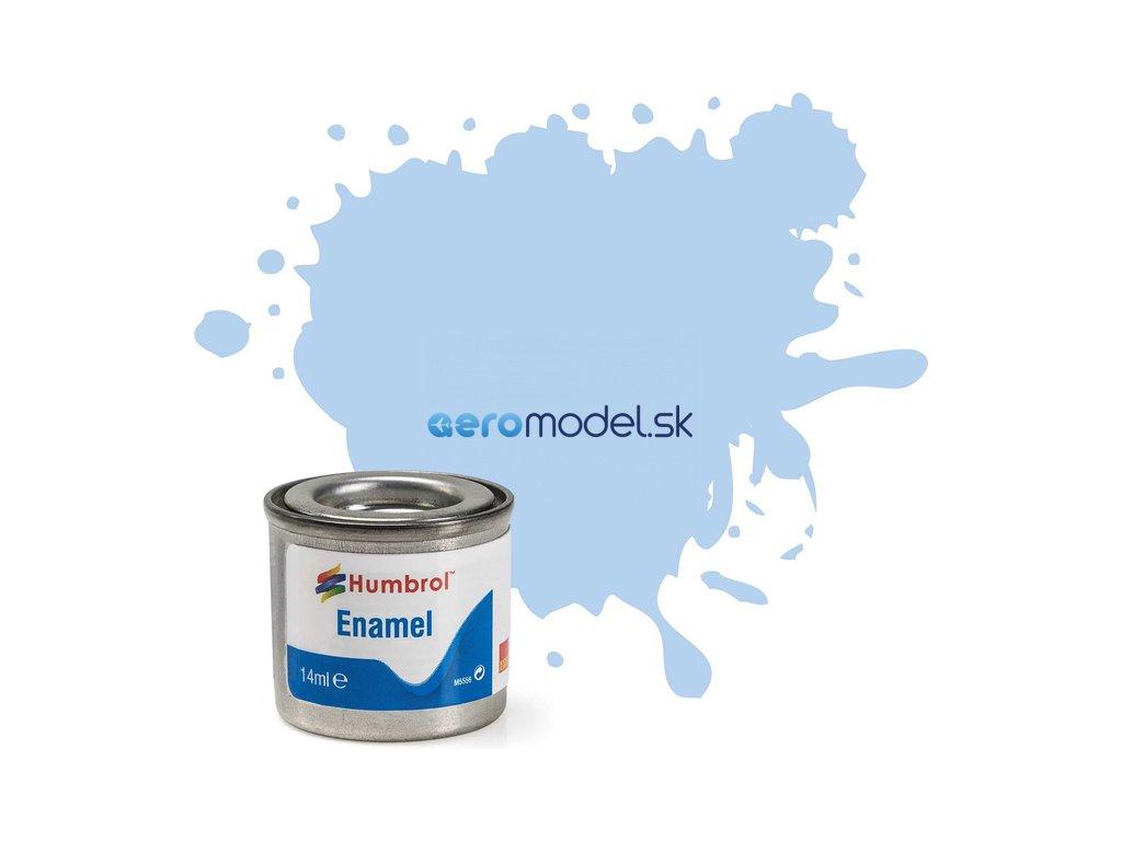 Humbrol emailová barva #44 pastelová modrá matná 14ml AF-AA0044