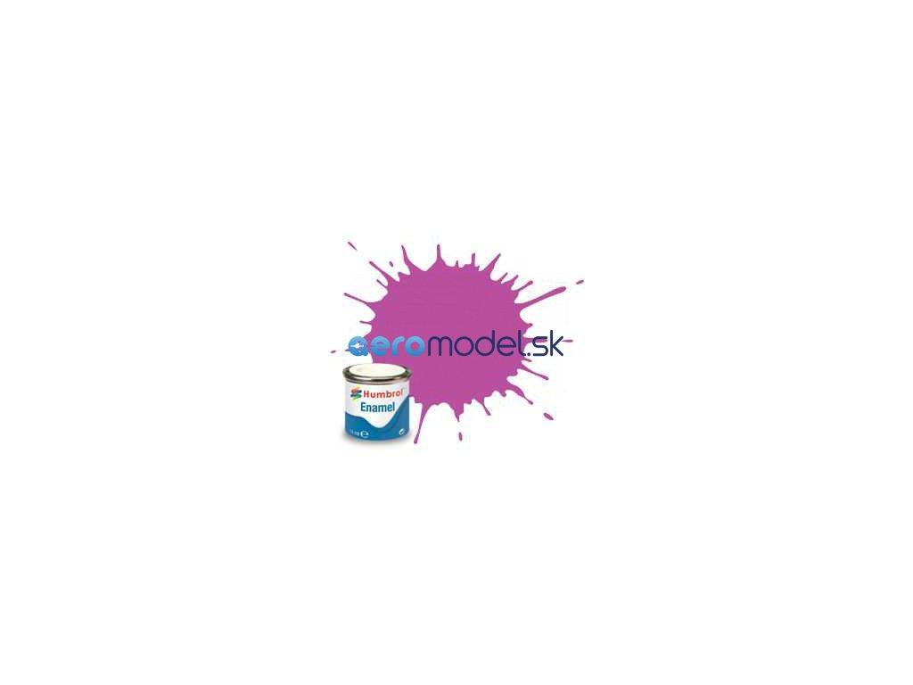 Humbrol emailová barva #58 purpurová matná 14ml AF-AA0058