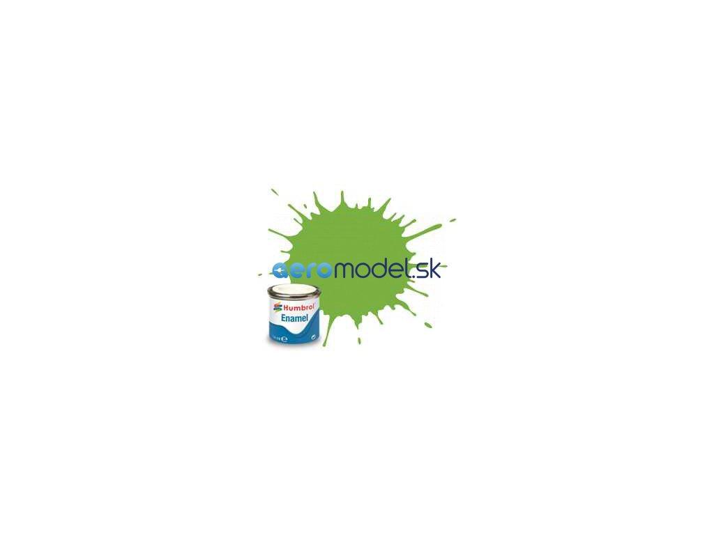Humbrol emailová barva #38 limetková lesklá 14ml AF-AA0415