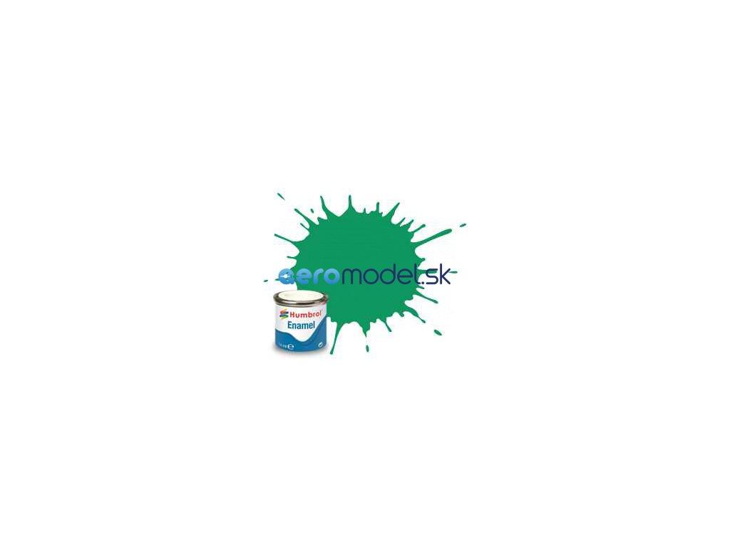 Humbrol emailová barva #50 mlhová zelená metalická 14ml AF-AA0549