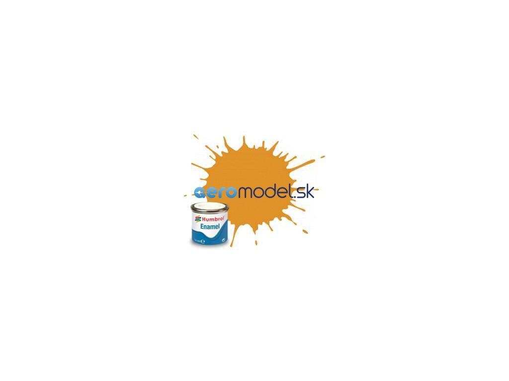 Humbrol emailová barva #54 mosazná metalická 14ml AF-AA0597