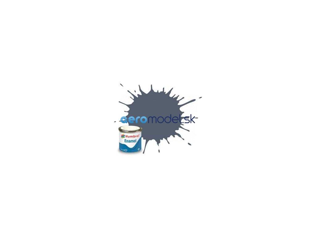 Humbrol emailová barva #77 námořnická modrá matná 14ml AF-AA0850