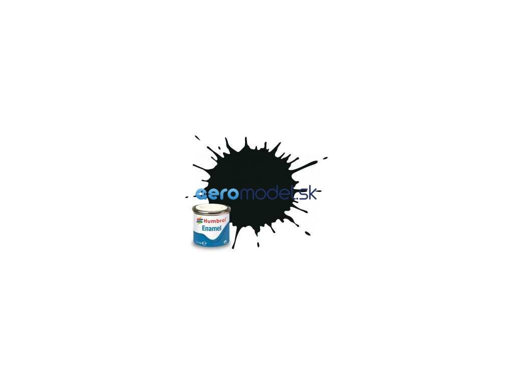 Humbrol emailová barva #91 černozelená matná 14ml AF-AA1002