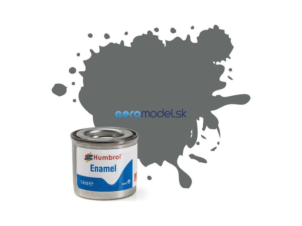 Humbrol emailová barva #246 RLM75 fialovo-šedá matná 14ml AF-AA2246