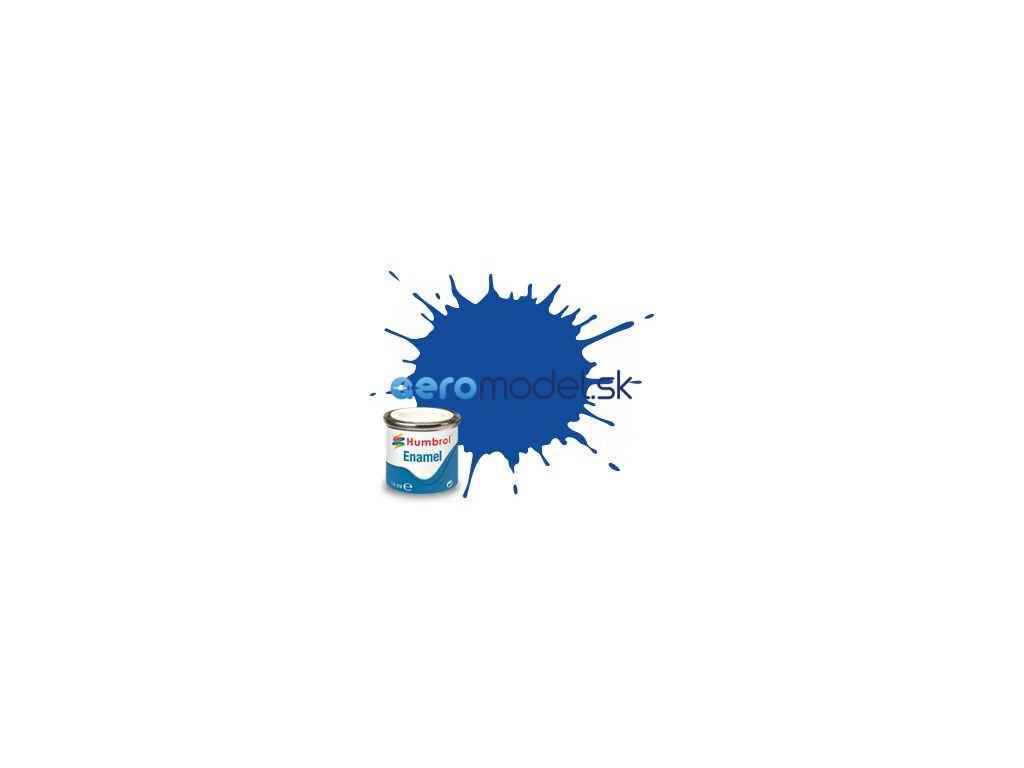 Humbrol emailová barva #222 měsíční modrá metalická 14ml AF-AA7222