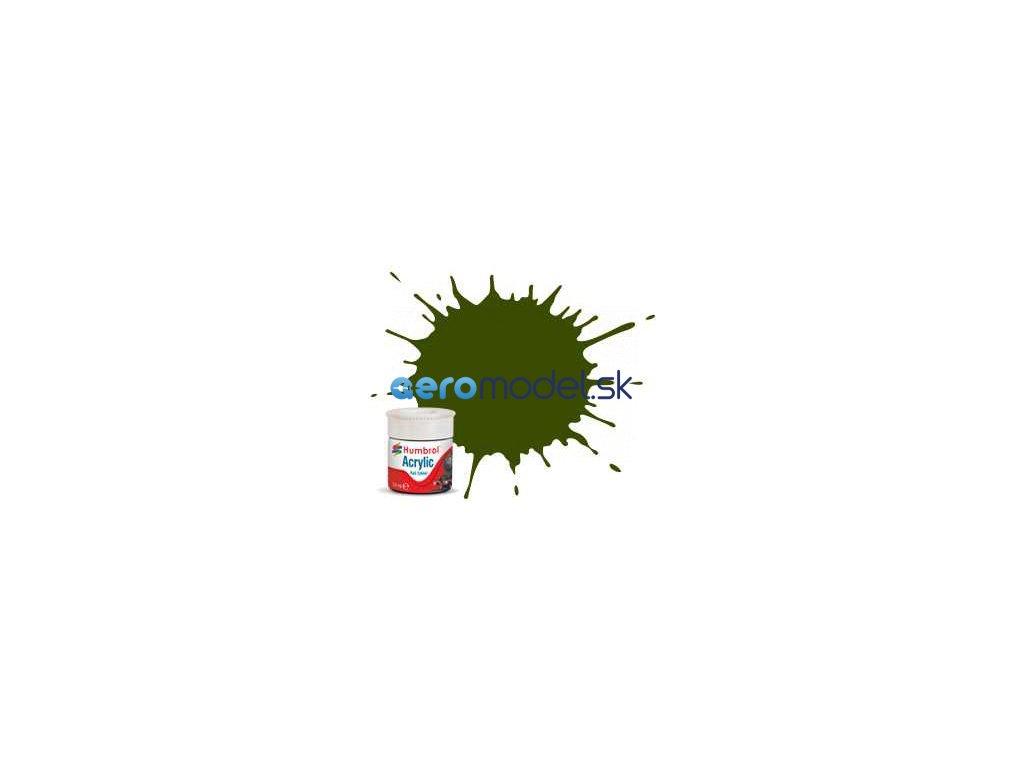 Humbrol akrylová barva #RC410 Maunsell zelená matná 14ml AF-AB2410