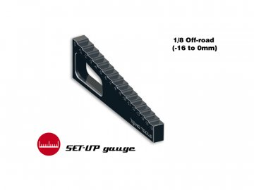 XENO Tools Měřidlo propadu ramen 1:8 (-16.0mm až 0mm) XT-2104