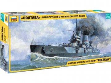 Zvezda ruská bitevní loď Poltava (1:350) ZV-9060