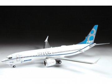 Zvezda Boeing 737-8 MAX (1:144) ZV-7026