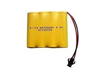 Akumulátor 700mAh 4,8V Ni-Cd