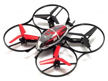 Syma X4 (2.4GHz, dosah až do 50m, letový čas až 8 minút) - červená
