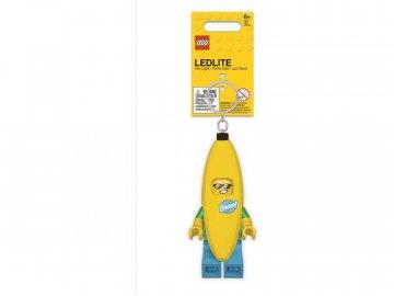 LEGO svítící klíčenka - Banana Guy LGL-KE118