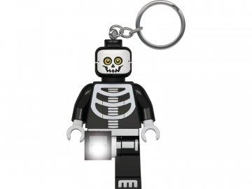 LEGO Licence LEGO svítící klíčenka - Kostlivec LGL-KE137