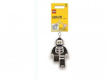 LEGO svítící klíčenka - Kostlivec LGL-KE137