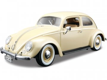 Bburago Volkswagen Käfer-Beetle 1955 1:18 krémová BB18-12029BE