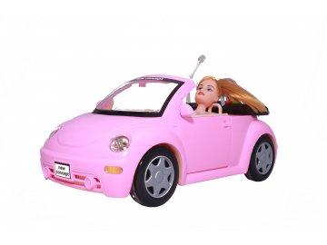 Rúžový Beetle na diaľkové ovládania