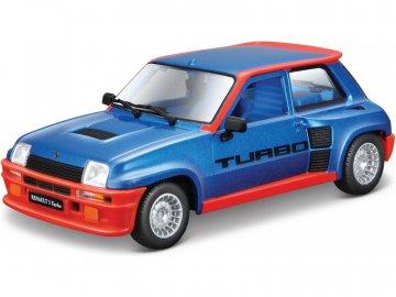 Bburago Renault 5 Turbo 1:24 modrá BB18-21088B