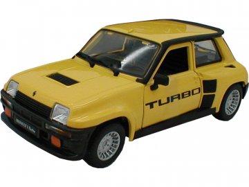 Bburago Renault 5 Turbo 1:24 žlutá BB18-21088Y