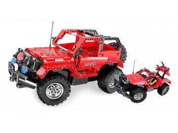 ouble Eagle : Jeep Wrangler - Lego auto