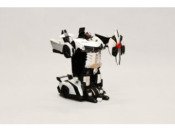 RC Auto - robot transformer 2v1 1:18 Lamborghini