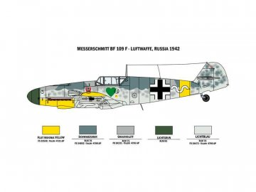 Italeri War Thunder BF109 F-4 a FW 190 D-9 (1:72) IT-35101