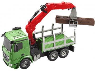 Double Eagle: Žeriav na prepravu dreva Mercedes-Benz 1:20 2.4GHz