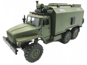 WPL RC vojenský nákladný automobil WPL B-36 (1:16, 6WD) - zelený