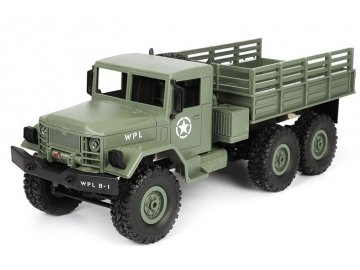 WPL: Vojenský automobil 1:16, 4x4