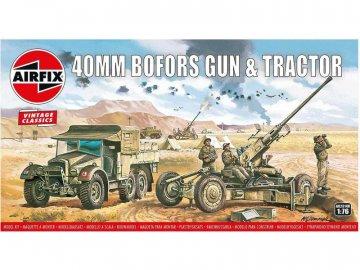 Airfix Bofors 40mm kanón, Tractor (1:76) (Vintage) AF-A02314V