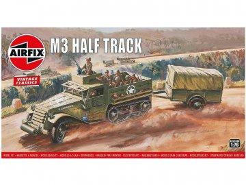 Airfix M3 Half Track, 1 Ton Trailer (1:76) (Vintage) AF-A02318V