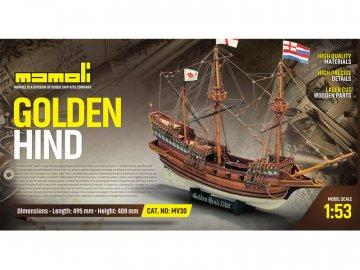 Mamoli MAMOLI Golden Hind 1577 1:53 kit KR-21730