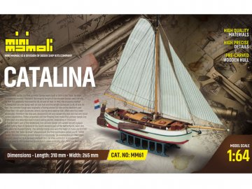 Mini Mamoli MINI MAMOLI Catalina 1:64 kit KR-21861