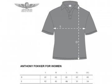 Antonio Live & Fly W - Polokošile ANTHONY FOKKER XXL ANT131803817
