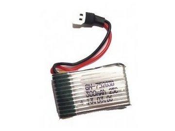 Náhradna batéria Syma: 300mAh 3.7V 25C LiPo Walkera - Syma S39 Raptor