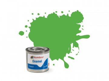 Humbrol emailová barva #37 zářivá zelená matná 14ml AF-AA0037