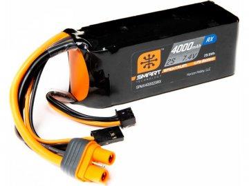 Spektrum Smart LiPo 7.4V 4000mAh Rx IC3 SPMX40002SRX