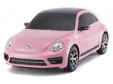 Rastar RC auto Volkswagen Beetle 1:14 RTR - ružové