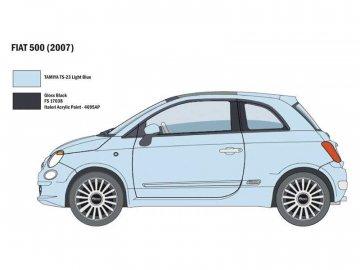 Italeri Fiat 500 (2007) (1:24) IT-3647