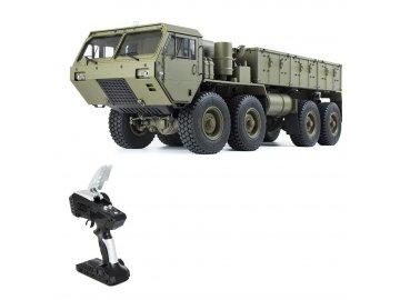 militarytruck 1 rtr zeleny 8x8