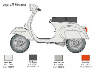 Italeri Vespa 125 Primavera (1:9) IT-4633
