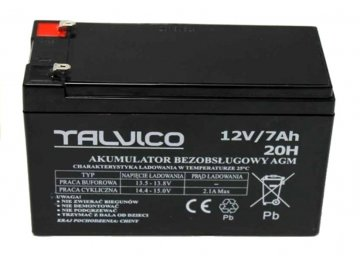 akumulátor 12V: 7Ah pre elektrické autíčko pre deti